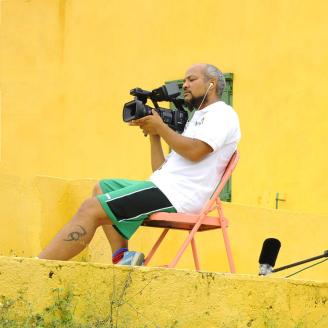 Jermain-Filming